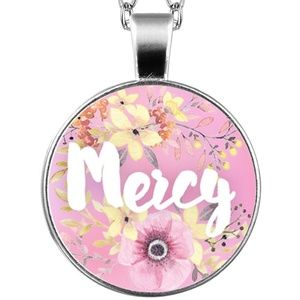 Necklace- NEW- Christian - MERCY
